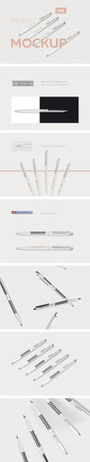 Clean and Professional Pen Mockup