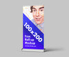 3 x Roll-Up Advertisement Mockup or 100x200 cm