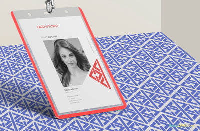Corporate ID Card Mockup