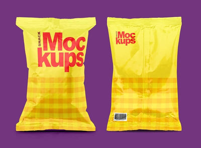Snack Packaging Mockups