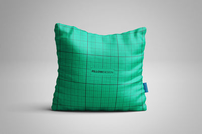 Perfect White Square Pillow Mockup
