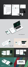 Branding Stationery Mockup PSD Set