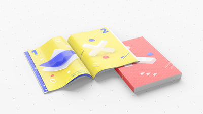 Amazing Set of PSD Magazine Mockups