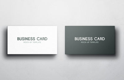 Two Business Card Mockups