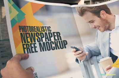 Newspaper Ad Design Mockup