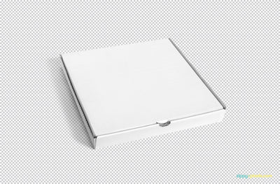 Delicious Pizza Box Mockup
