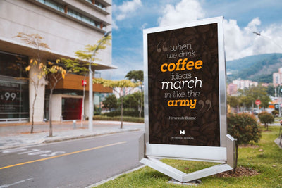Billboard Outdoor Advertising (Mockup)