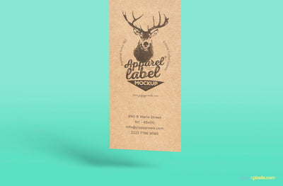 Superious Apparel Label Mockup