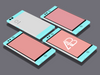 Flat Nextbit Mobile Phone Robin Mockup