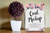 Floral Invitation and Greeting Card PSD Mockup