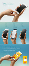 Woman Hand Holding iPhone 6 or Android Mockup