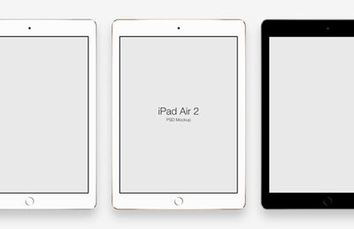 iPad Air 2 and iPad Mini 3 Mockups