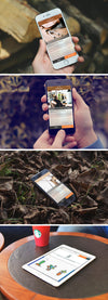 iPhone 6 and iPad Air 2 Screen Mockups