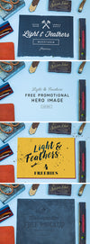 Light and Feather: 4 MockUps