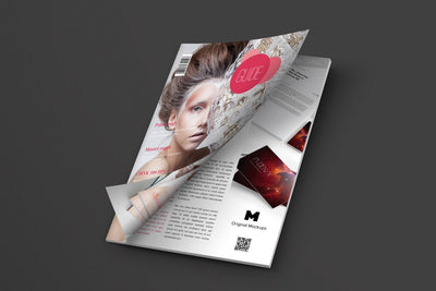 Opening A4 Magazine Cover (Mockup)