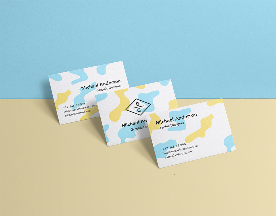 Clean and professional set of psd business card mockups mockup hunt clean and professional set of psd business card mockups reheart Images