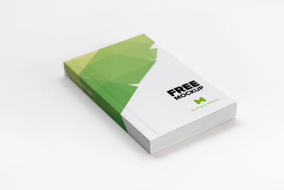 Softcover Trade Book Mockup (Psd)