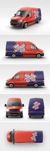 6 Angels of a Van MockUp PSD