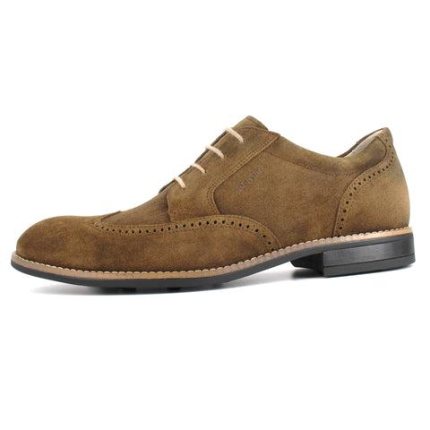 RINNE Suede Derby Brogue