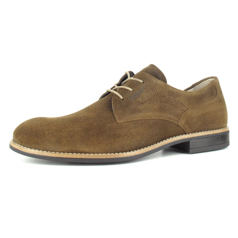 MATKA Men's Suede Derby shoe