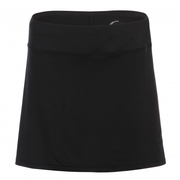 Women's Pleated Tennis Skort in Black