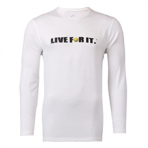 Live For It® Long Sleeve Performance Tee