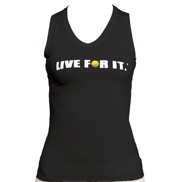 Live For It®  Sleeveless Performance Tee