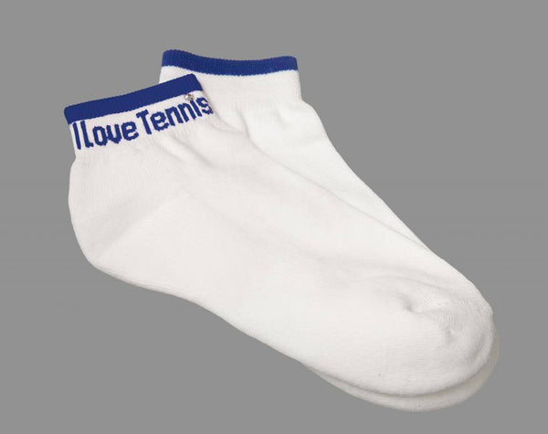 """I LOVE TENNIS"" Socks"