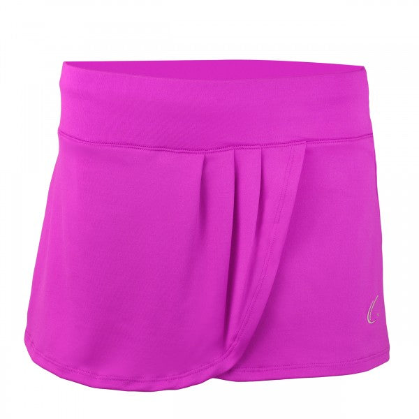Women's Pleated Tennis Skort in Violet Purple