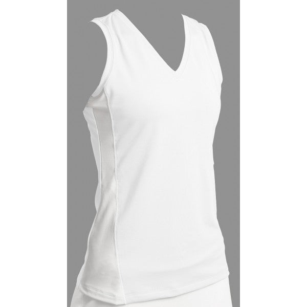 Sleeveless V-Neck Tank