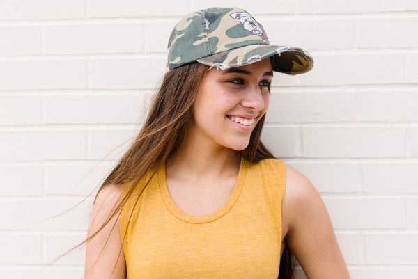 The Stray Hat - Camo - The Stray Stitch