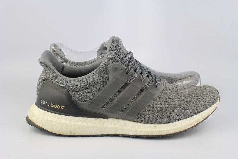 2017 Adidas 3 Ultra Boost Mystery Grey 9.5 (Used)