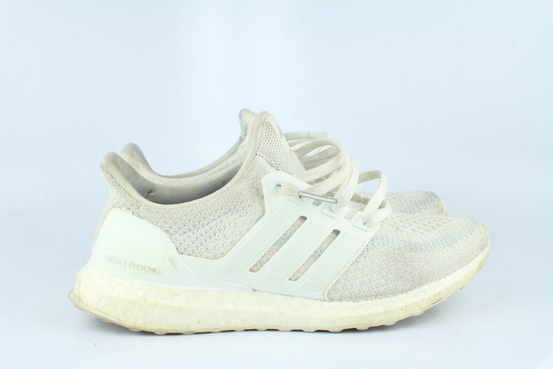 2016 Adidas Ultra Boost 2 Triple White 8 (Used)