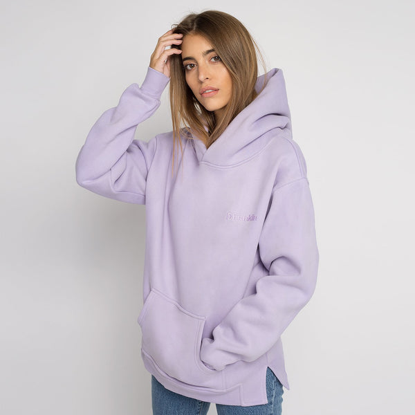Hoodie Oversized DF Basic Lilac