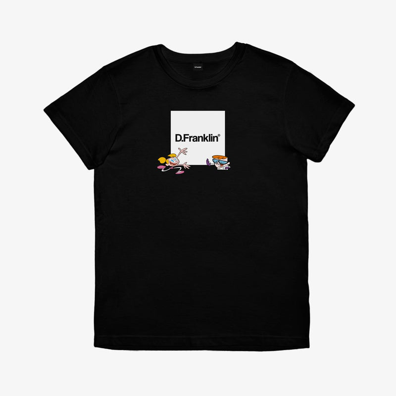 Dexter Lab Black Tee