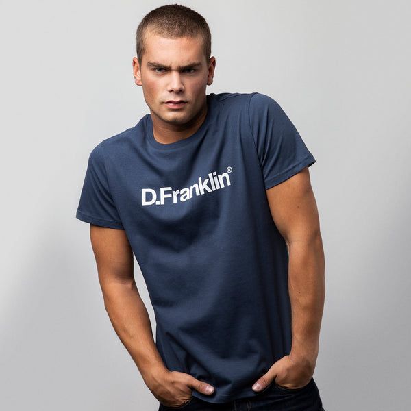 T-shirt DF Log Navy