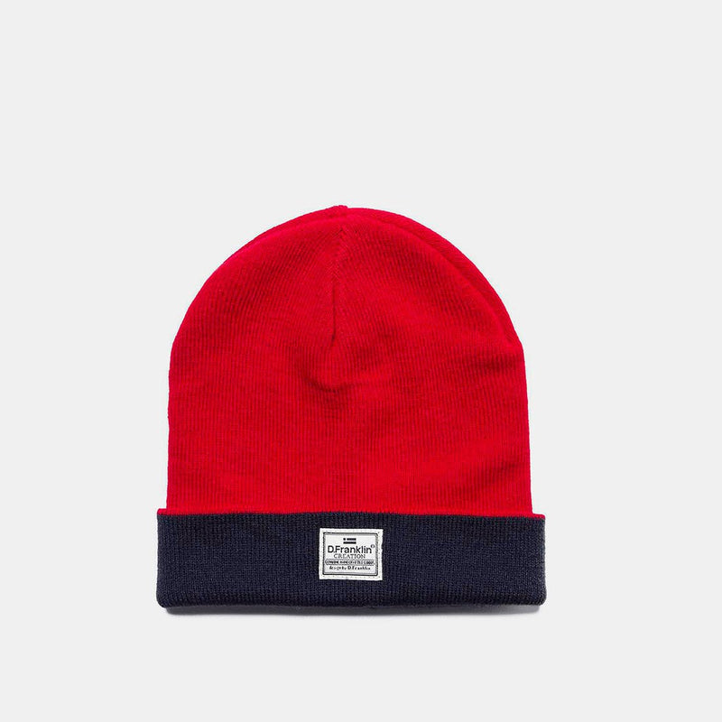 Basic Red Beanie