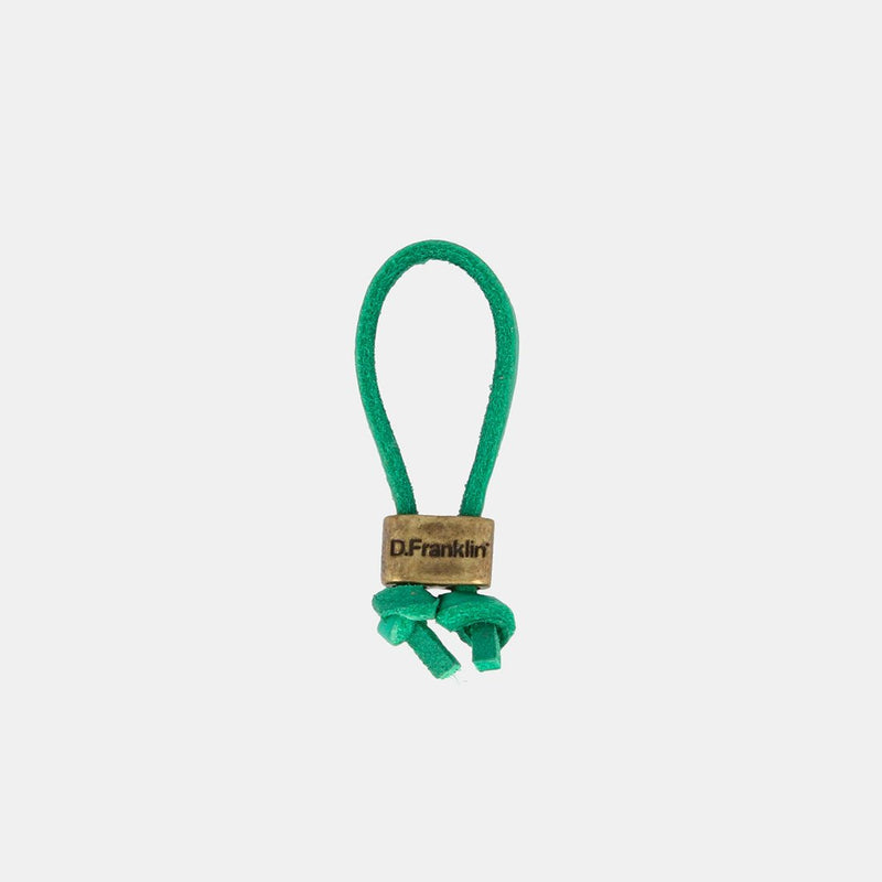 Keychain Magnum Leather Green/Gold