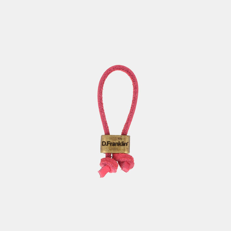 Keychain Magnum Leather Pink/Gold