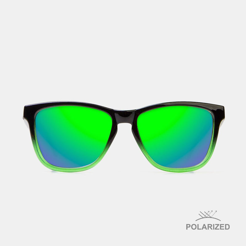 Roosevelt Black / Green Blend Polarized