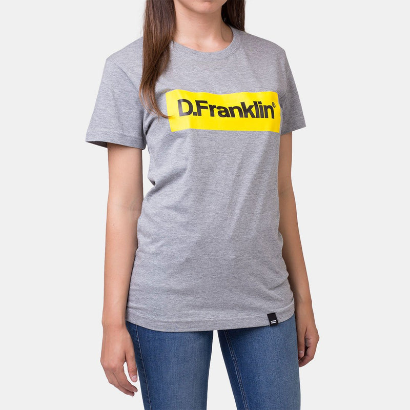 Yellow Rec Grey Tee