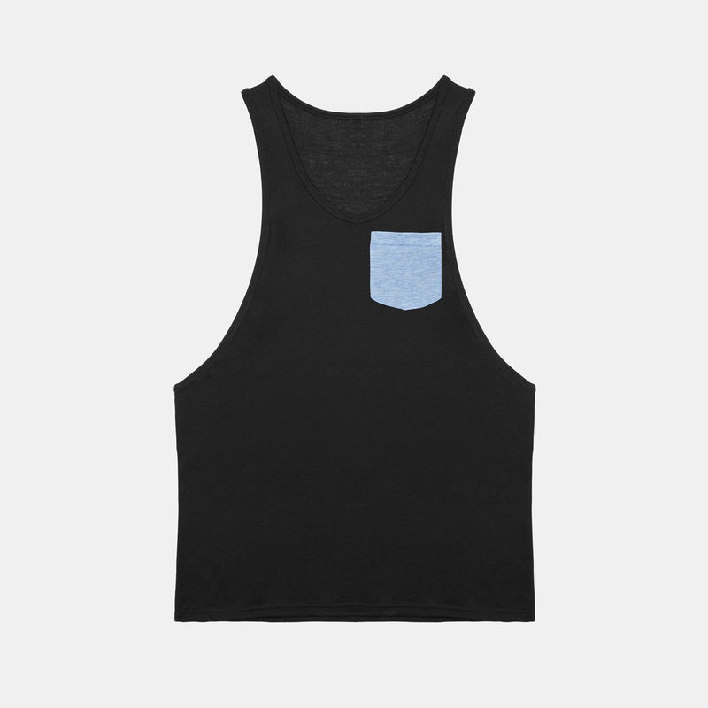 Tank Pocket Black