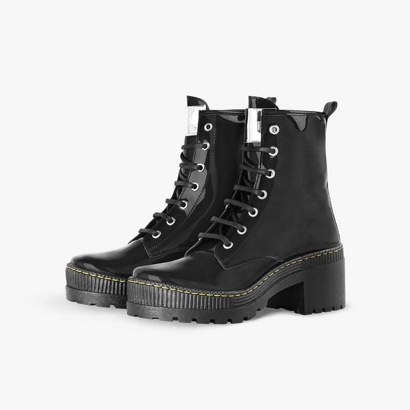 Megan Patent Black