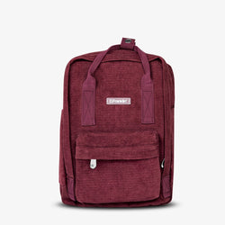 Abby Backpack Corduroy Bordeaux