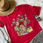 Red Cactus Graphic Tee