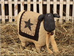 Country Primitive Wooly Sheep