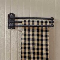 Country Primitive Farmhouse 3 Arm Towel Bar