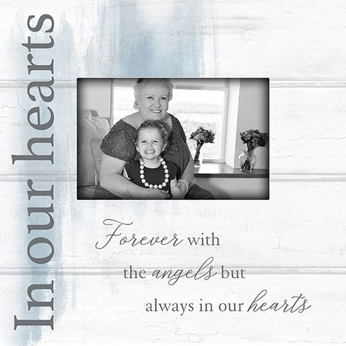 In Our Hearts Bereavement Picture Frame
