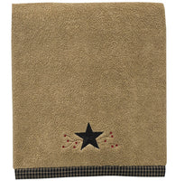 Star Vine Terry Bath Towel - BJS Country Charm