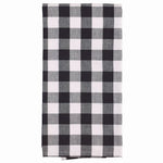 Farmhouse Black and White Check Dish Towel